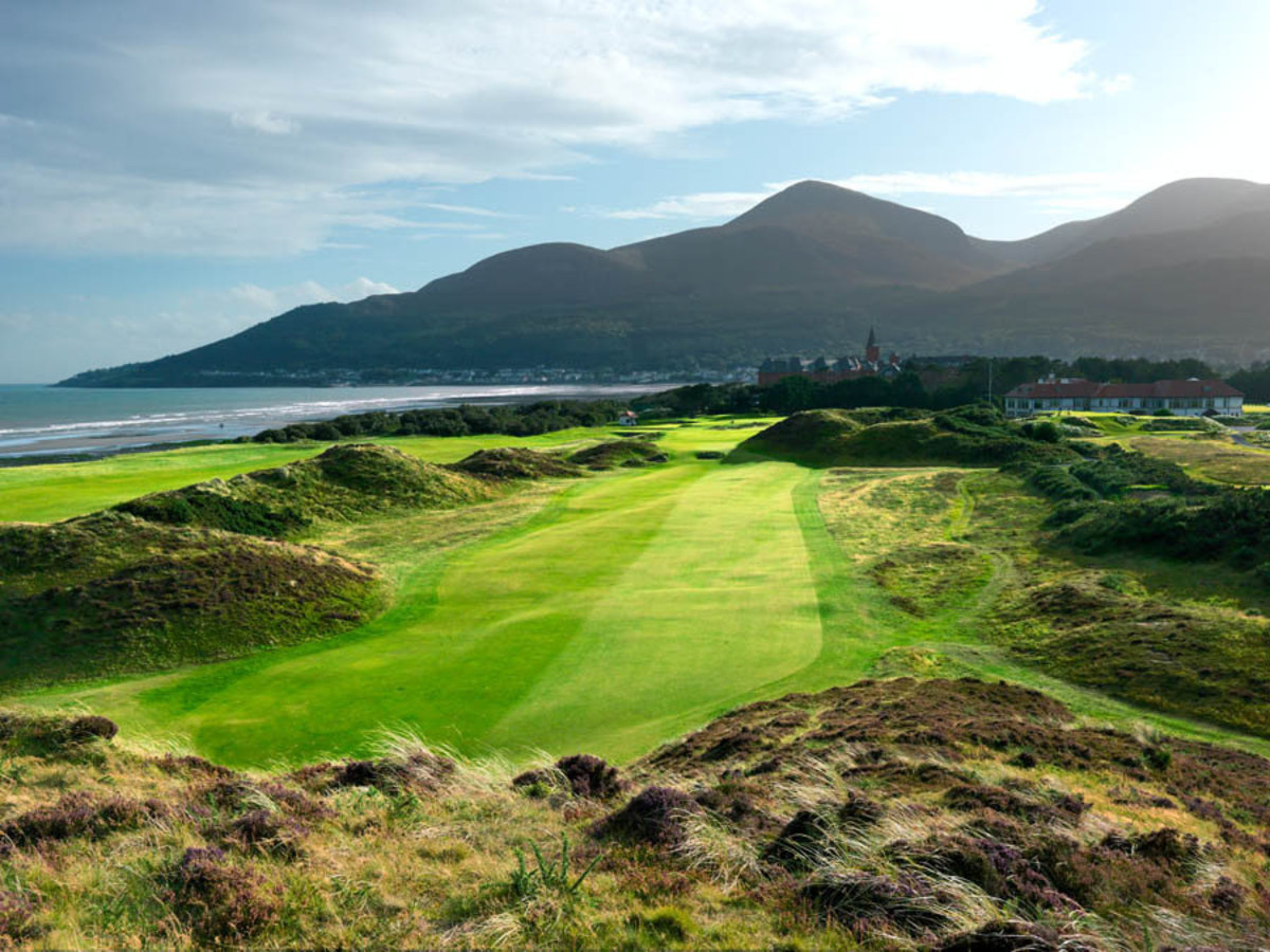 9th Hole, Royal County Down Golf Club Wall Mural