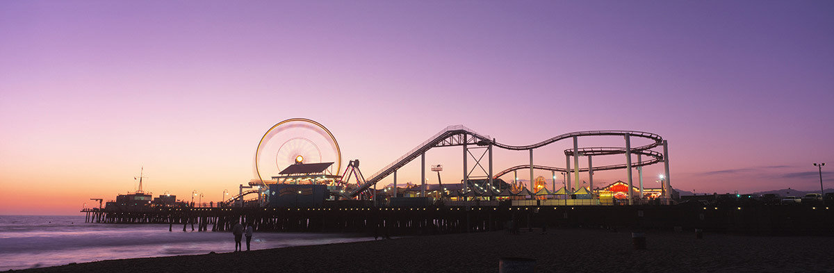 Amusement Park On Santa Monica Pier Wallpaper Mural Additional Thumbnail