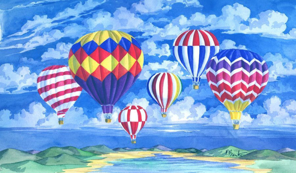 Balloons I Wall Mural Additional Thumbnail