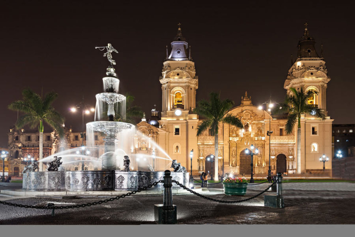 Basilica Cathedral Of Lima Sample