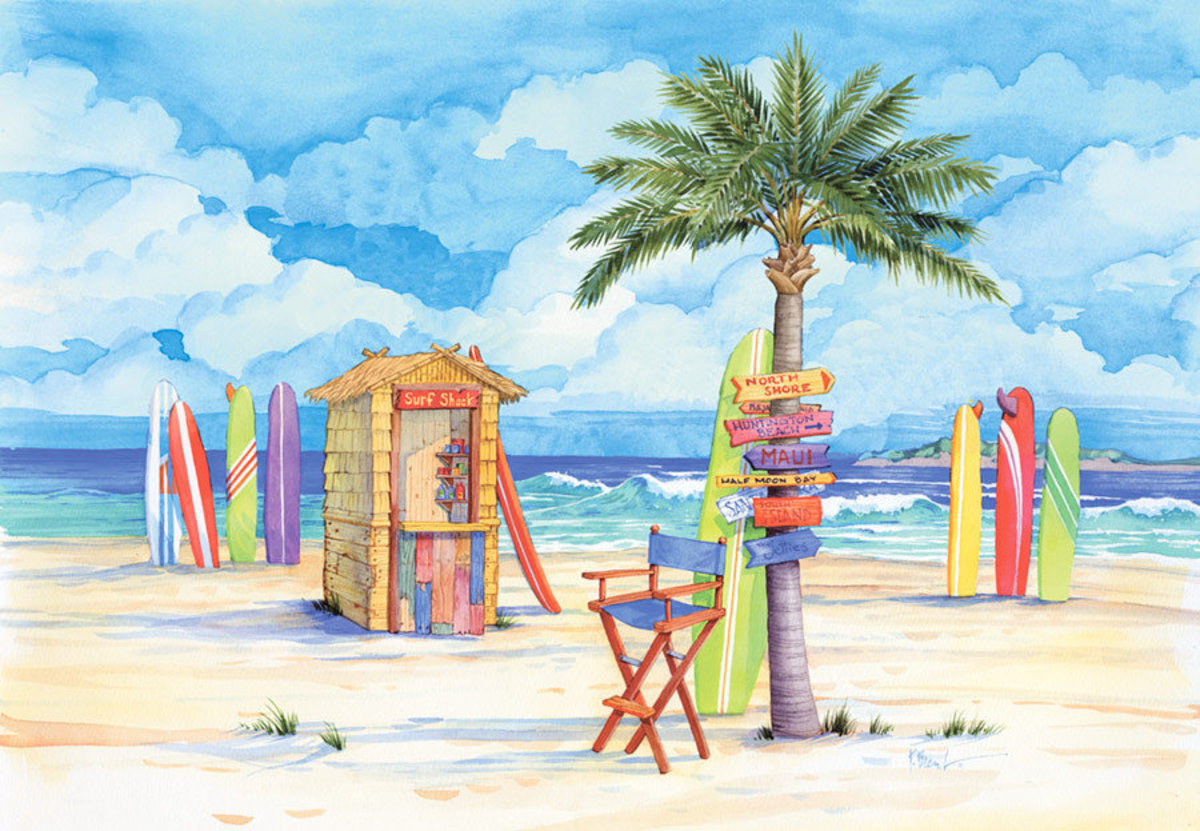 Image for Beach Signs-Surf Shack