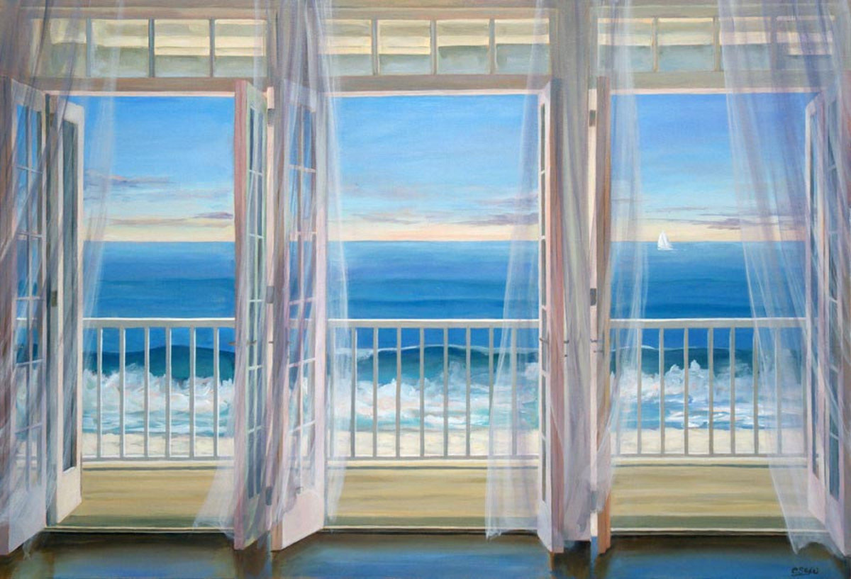 Image for Beachfront Breeze Wall Mural