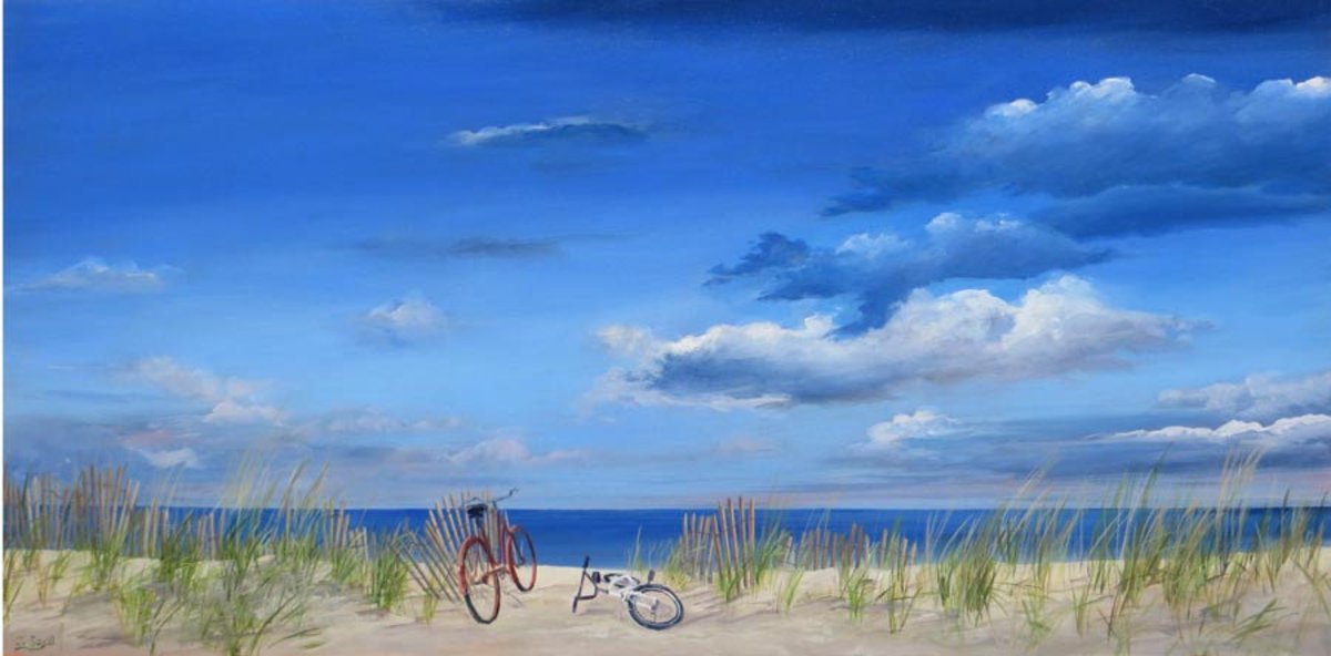 Image for Bicycles at the Beach