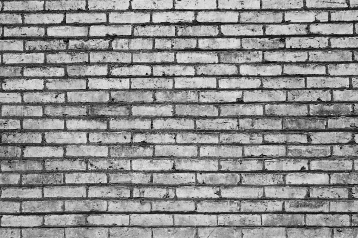 Black And White Brick