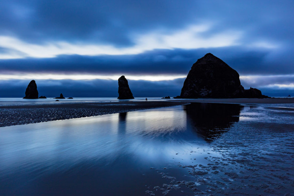 Cannon Beach Blue Hour