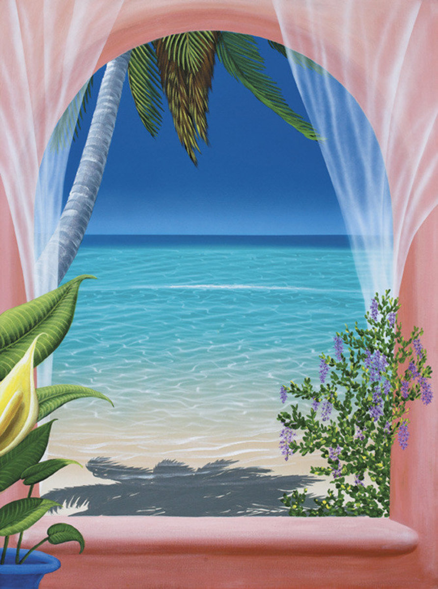 Caribbean Breeze Wall Mural