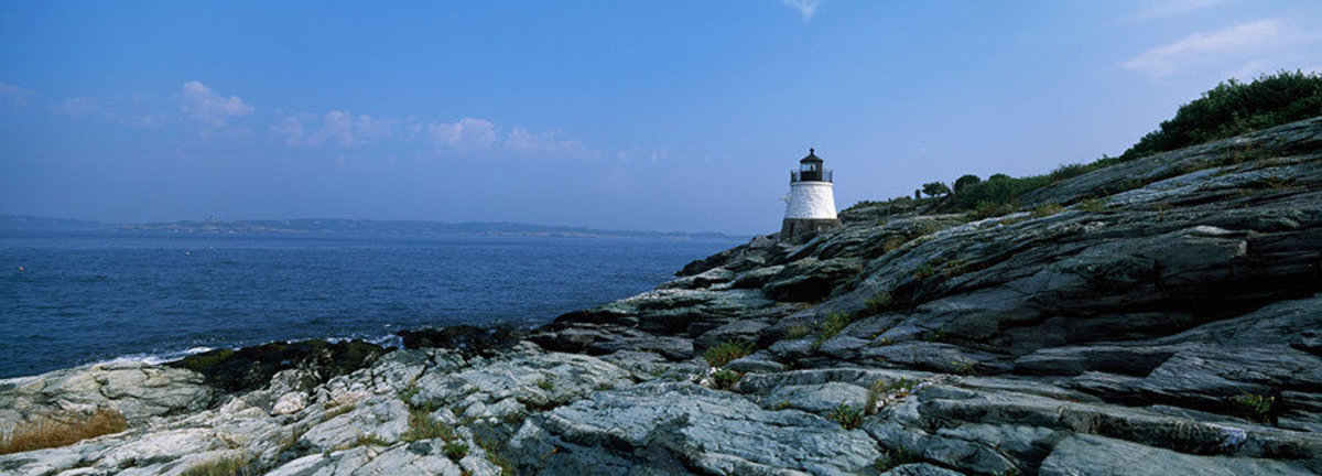 Castle Hill Lighthouse Seaside Wall Mural Additional Thumbnail