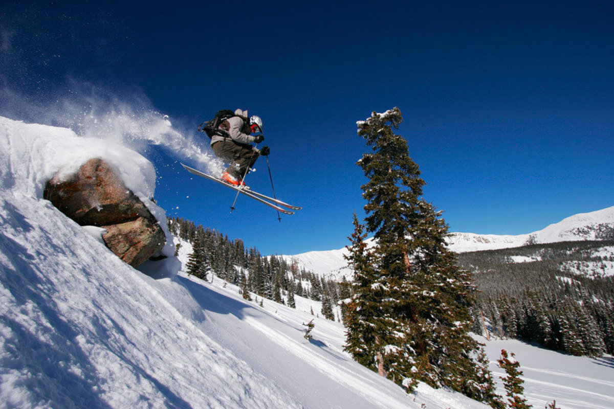 Catching Air In Monarch Pass Wall Mural Additional Thumbnail
