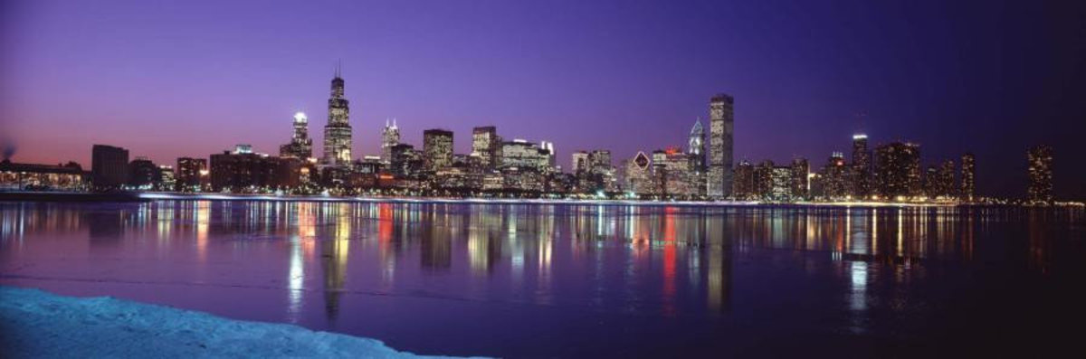 Chicago, Illinois - Series 3 Wall Mural Sample