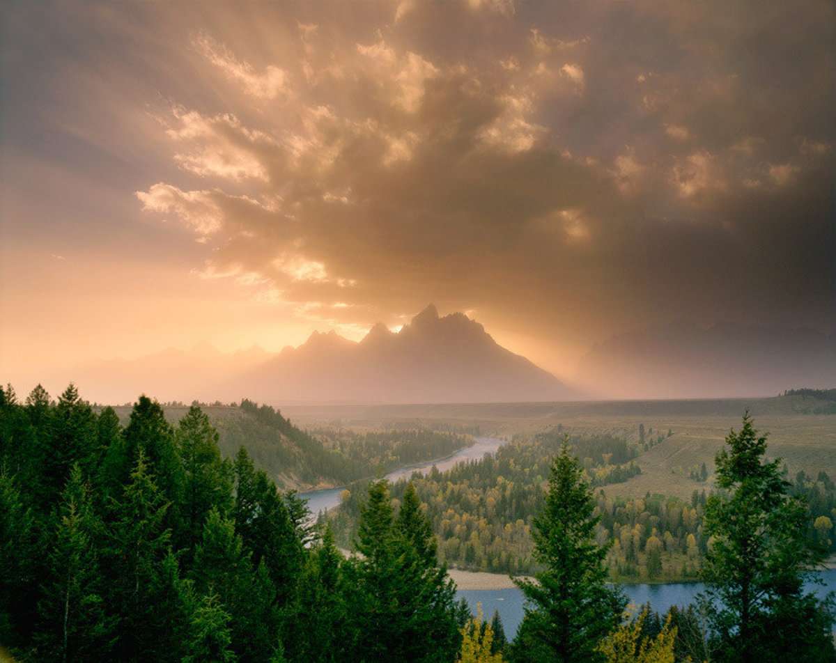 Image for Clearing Storm, Tetons, Wyoming