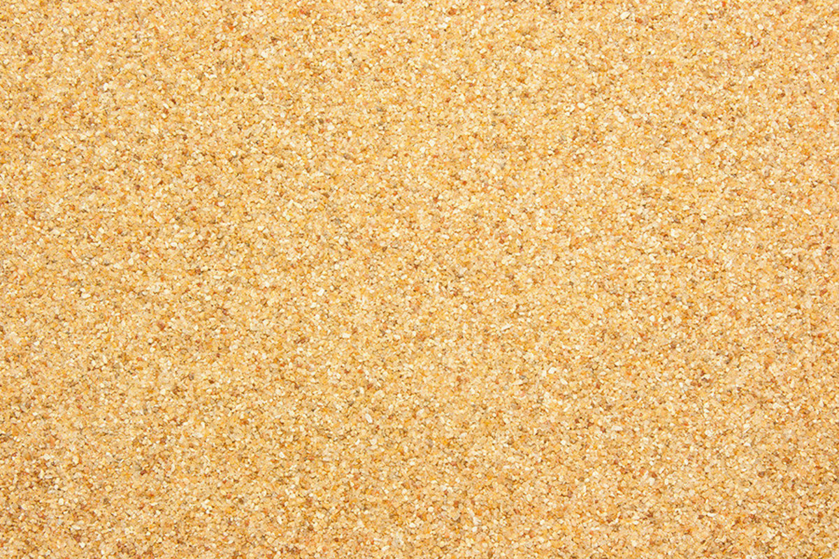 close up view of coarse sand texture Additional Thumbnail