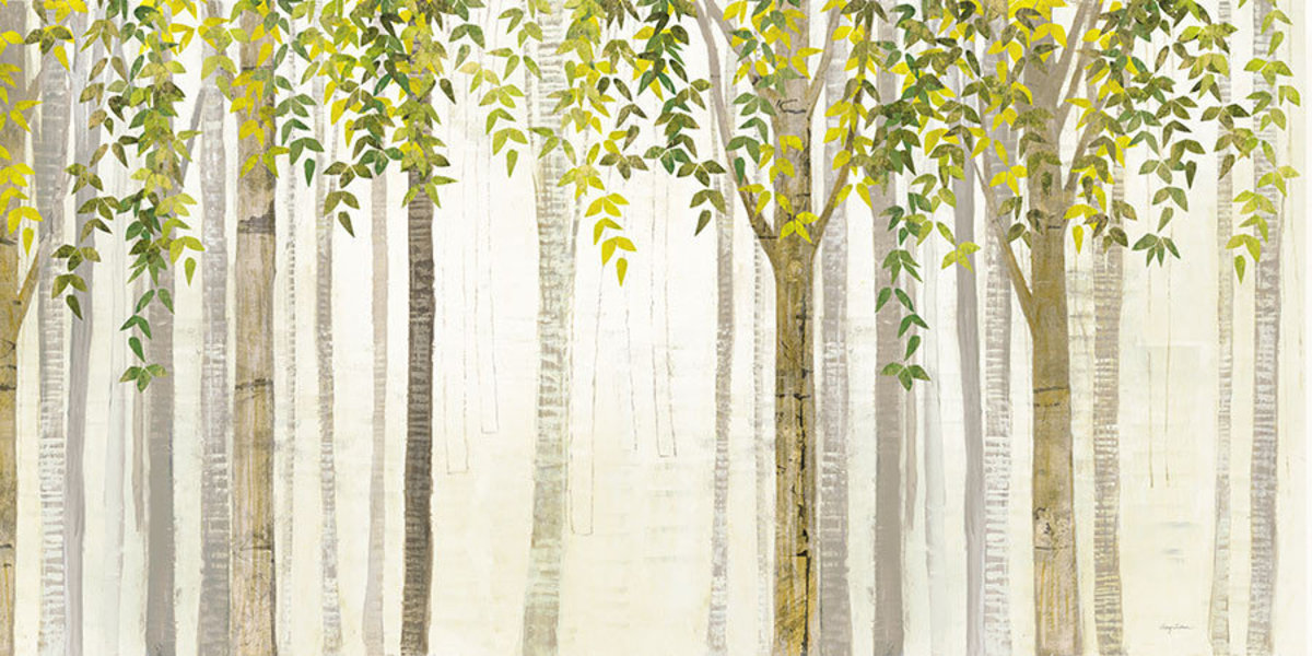 Down to the Woods Spring Wall Mural
