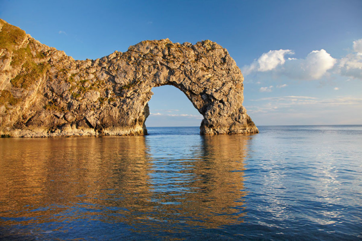 Durdle Door Arch, England 2 Wall Mural Additional Thumbnail