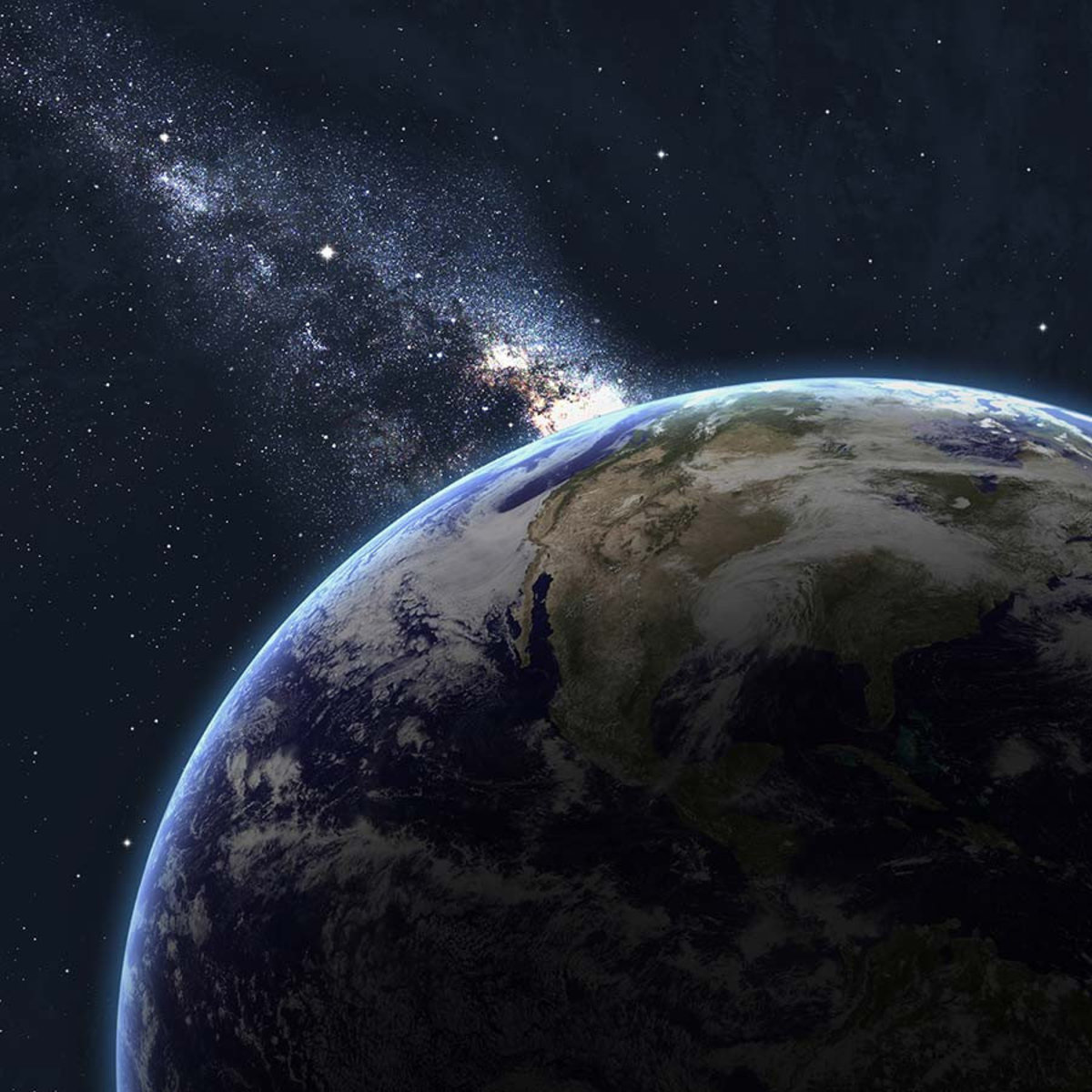Earth From Space Wallpaper Mural Additional Thumbnail