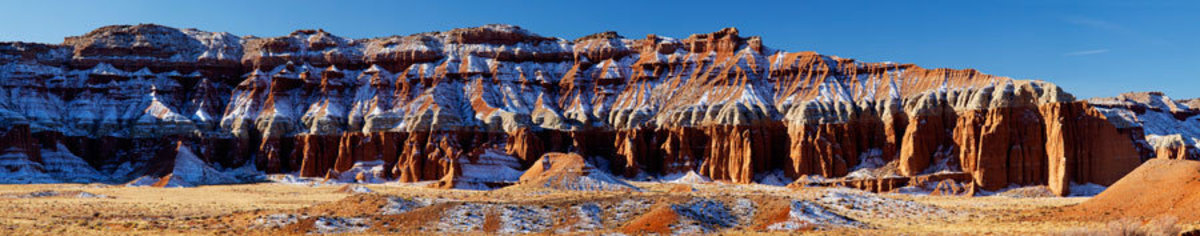 Eroded Sandstone Hills, Capitol Reef National Park Wall Mural Additional Thumbnail