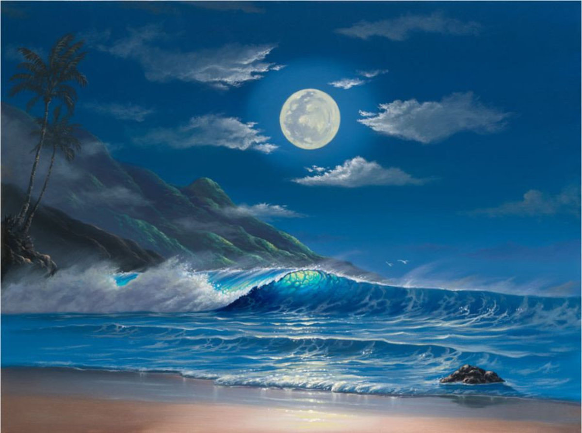 Evening Serenity Wallpaper Mural Additional Thumbnail