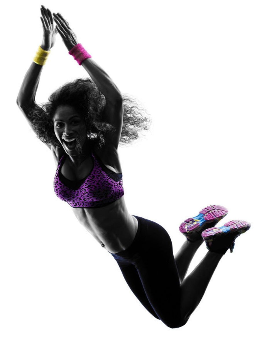 Fitness Dance Class silhouette Additional Thumbnail