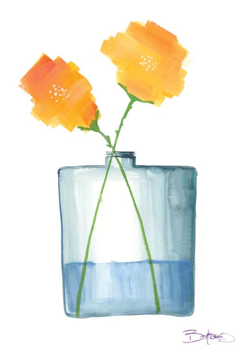 Flowers in a Jar 4 Wallpaper Mural Additional Thumbnail