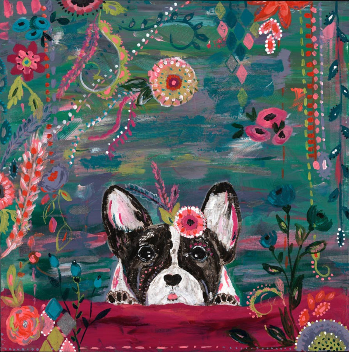 Frenchie Wall Mural Additional Thumbnail