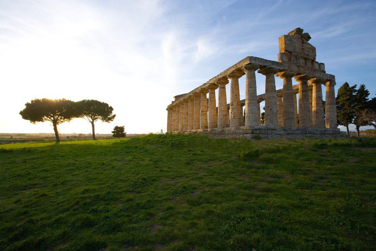Image for Greek Ruins, Paestum, Southern Italy