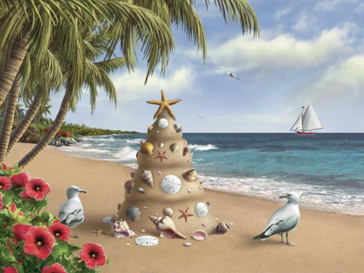 Holiday In Paradise Wallpaper Mural Additional Thumbnail