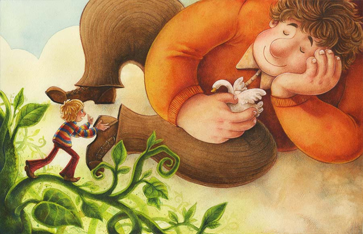 Jack and the Beanstalk Wall Mural Additional Thumbnail