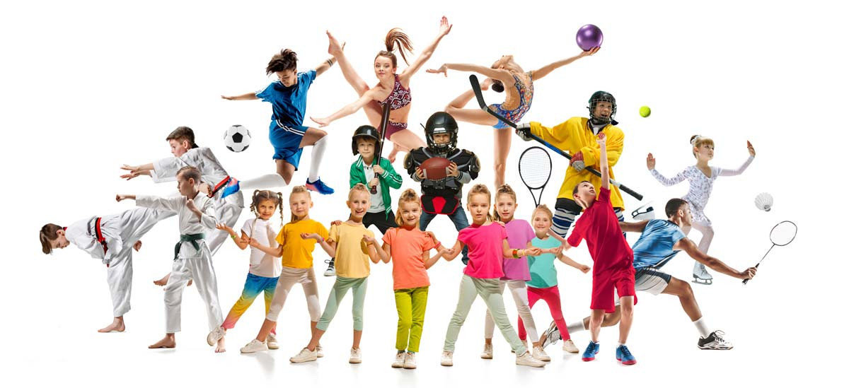 Kids In Sports Wall Mural Additional Thumbnail