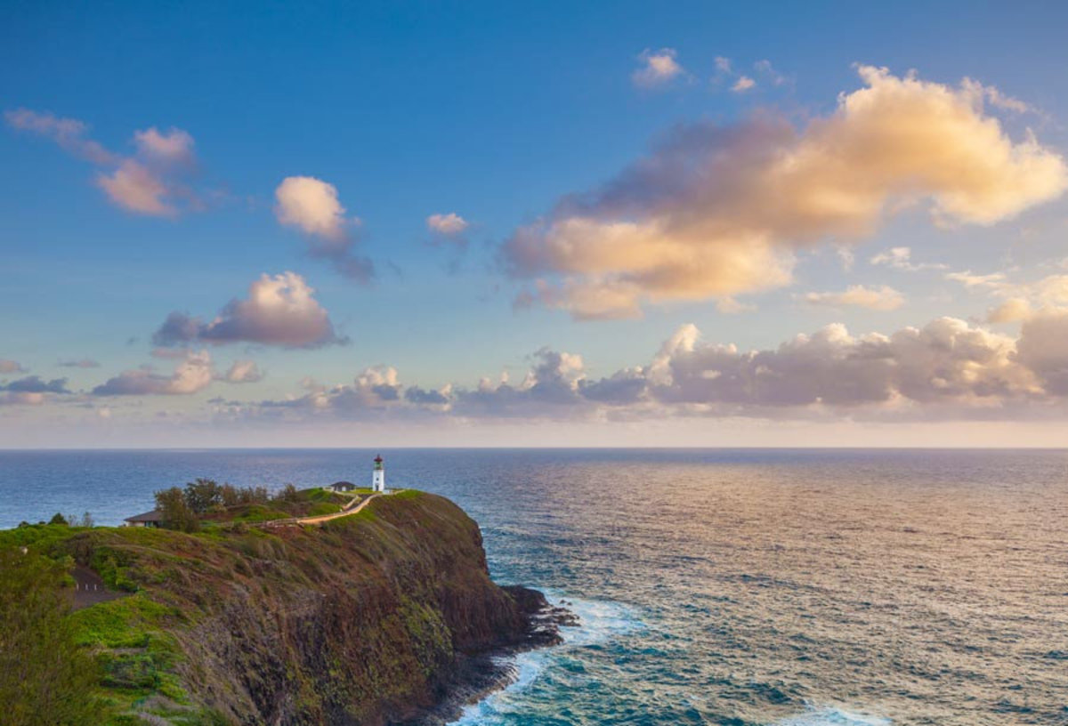 Kilauea Lighthouse Wallpaper Mural