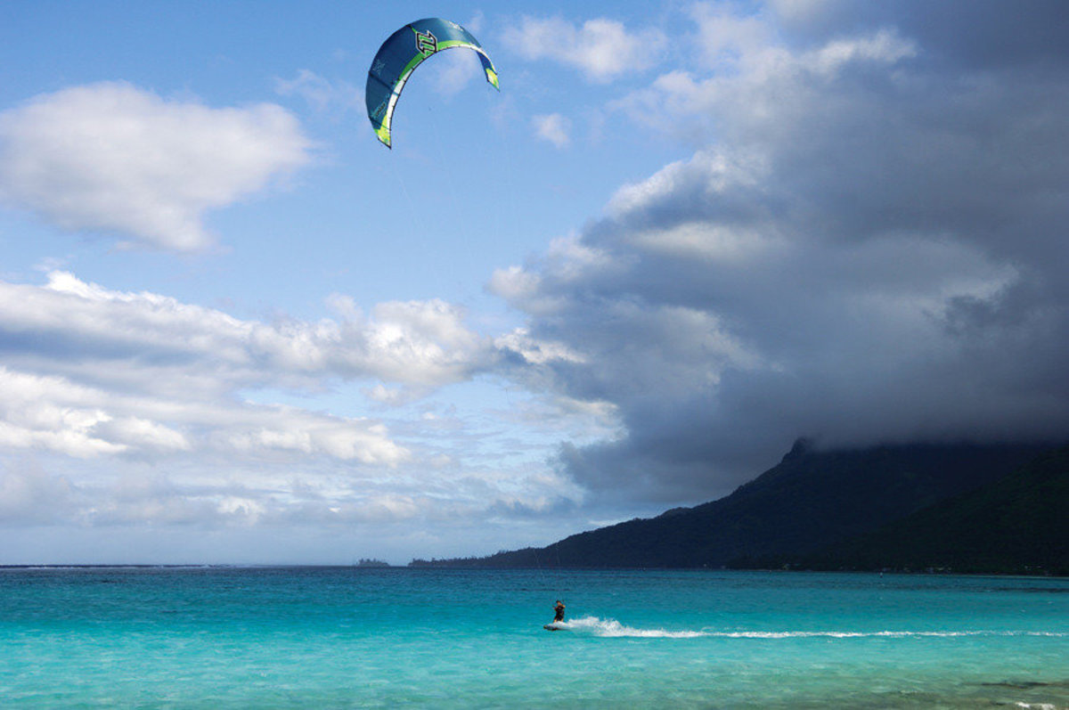Image for Kite Surf In French Polynesia 1 (Mckenna)