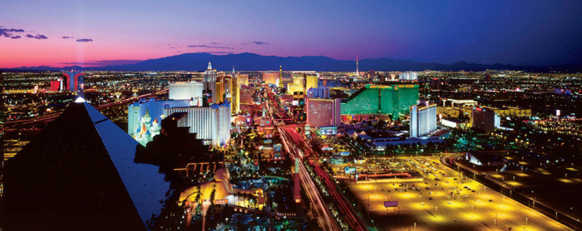 Las Vegas, Nevada - Series 2 Wall Mural Sample