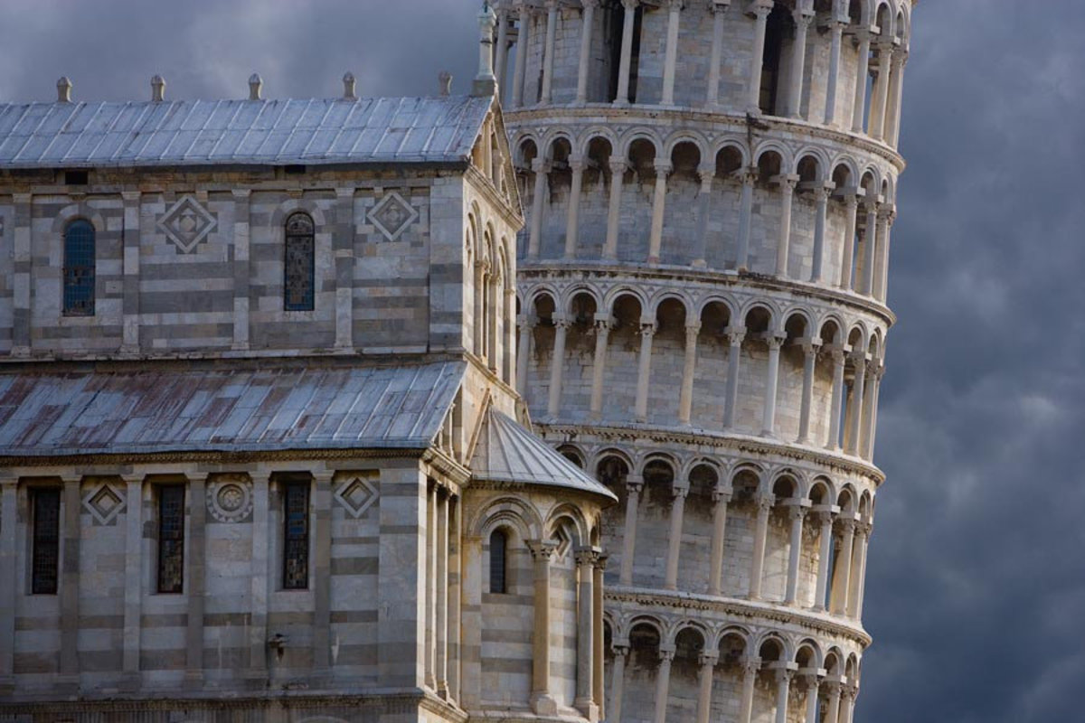 Leaning Tower, Pisa, Italy  Wallpaper Mural Additional Thumbnail