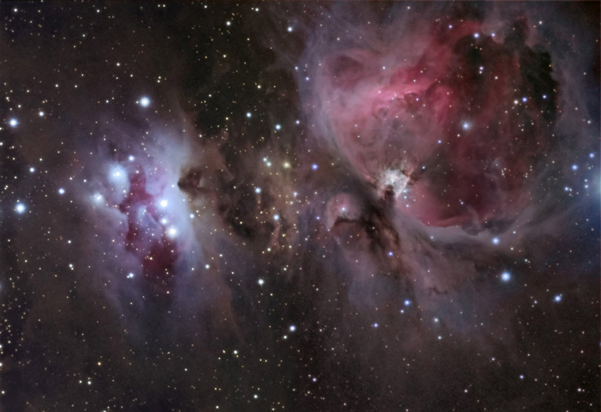 M42 Great Orion Nebula Wall Mural Sample