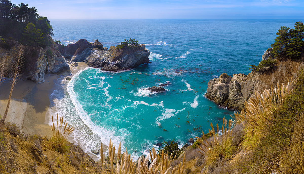 McWay Falls On Coast Of Big Sur Additional Thumbnail