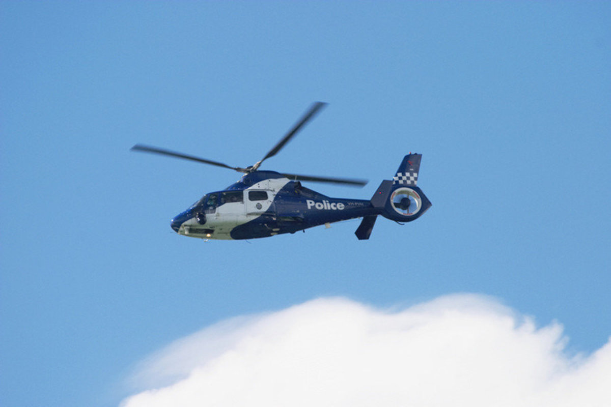 Image for Melbourne Police Helicopter
