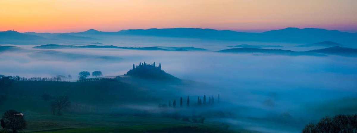 Image for Misty Dawn in Tuscany