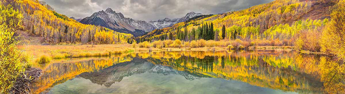 Mount Sneffels In Fall Wall Mural Additional Thumbnail