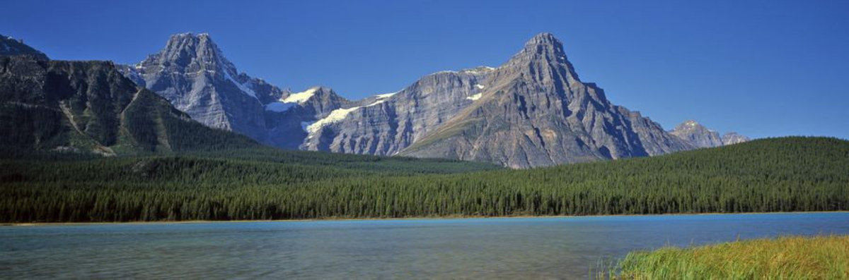 Mountains And The Bow River Sample