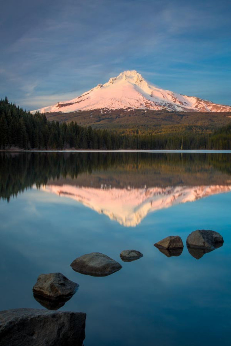 Image for Mt. Hood Evening