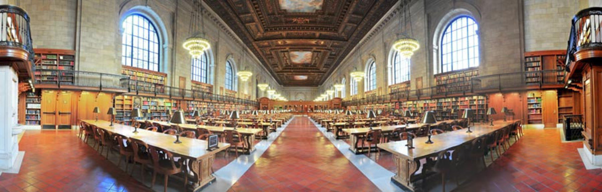 Image for NY Public Library - Panorama