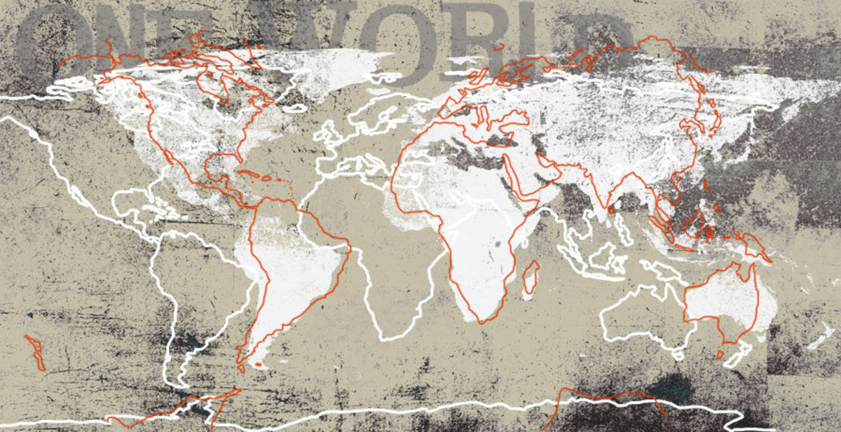 One World Wallpaper Mural Additional Thumbnail