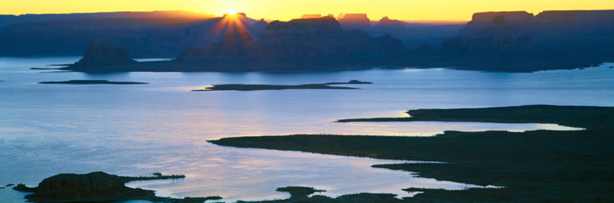 Image for Padre Bay at Sunrise, Glen Canyon National Recreation Area