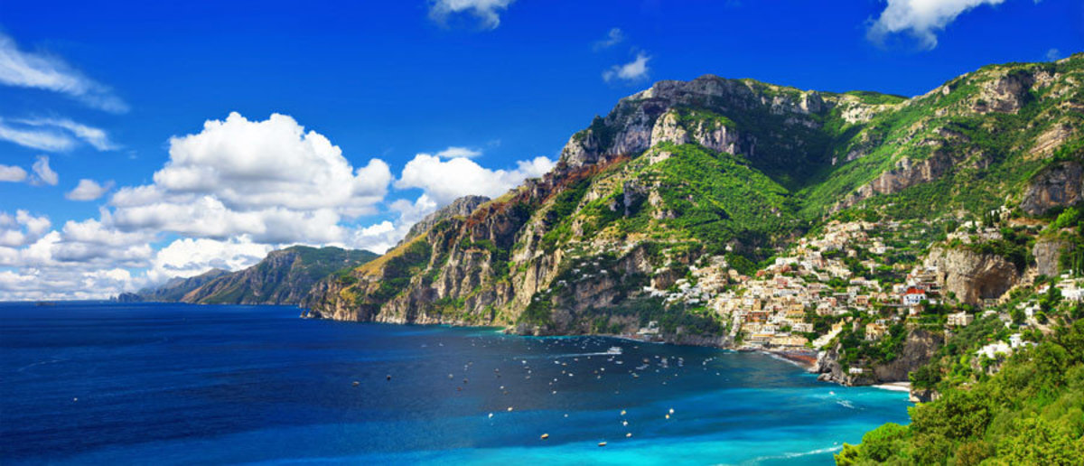 Waters of the Amalfi Coast Wall Mural Additional Thumbnail