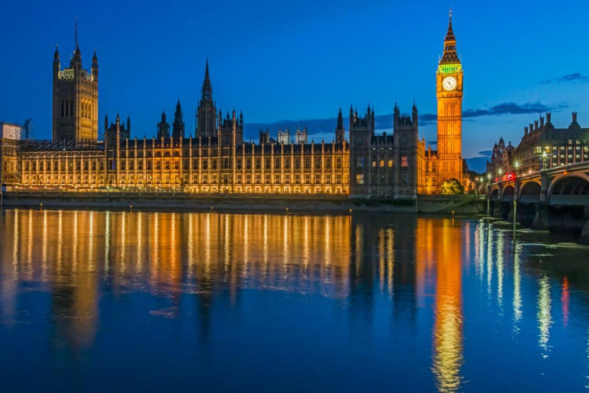 Image for Parliament Buildings at Night