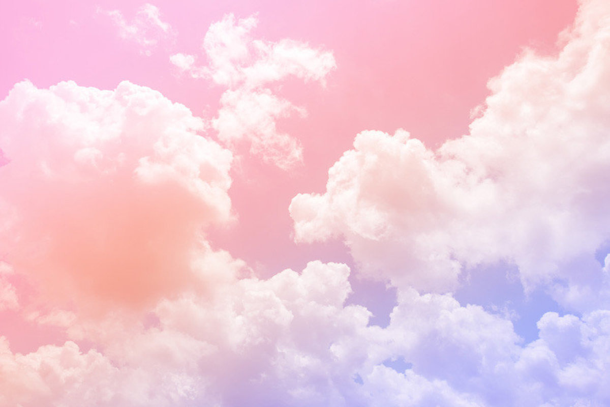 Pastel Dream Clouds Wall Mural Additional Thumbnail
