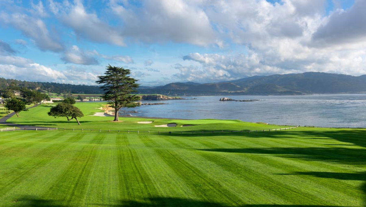 Image for Pebble Beach 18th Hole Greens