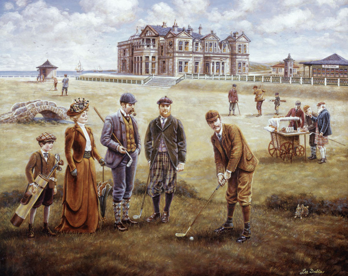Image for Saint Andrews Golf Course Wall Mural
