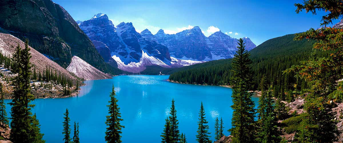 Scenic View Of Moraine Lake Wall Mural Additional Thumbnail