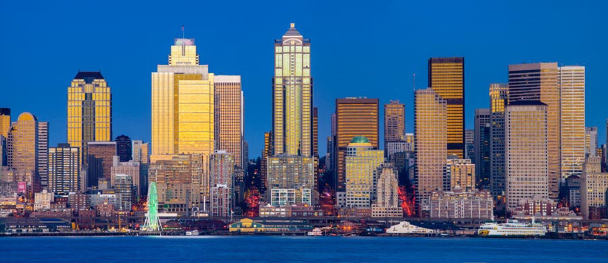 Seattle Skyline Wall Mural Additional Thumbnail