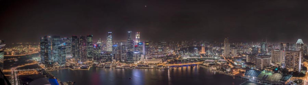 Image for Singapore Panorama at Night