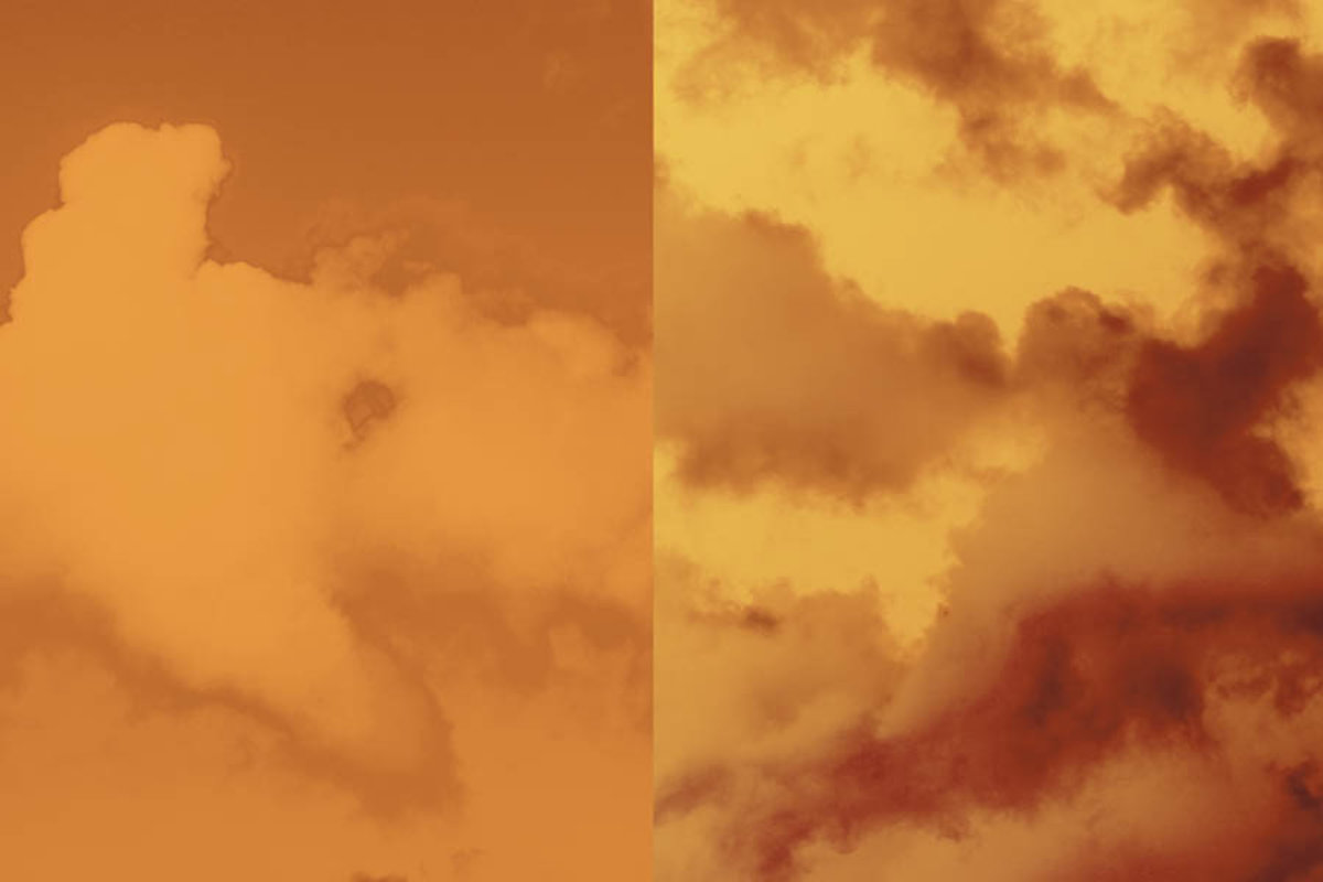 Sky-Red Mural Wallpaper Additional Thumbnail